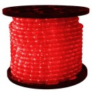 1/2 in. - LED - Red - Rope Light - 2 Wire - 120V - 150 ft. Spool - Red Color Tubing with Red LEDs - IFLC-18-RS