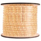 1/2 in. - LED - Warm White - Rope Light - 2 Wire - 120V - 150 ft. Spool - Clear Tubing with Warm White LEDs - IFLC-18-A