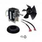 "Supco SM4753 - Draft Inducer Motor - 1"" & 1 7/8"" Dual Shaft - 115V - 60Hz - 1/22 HP - 1.8 FLA - 3300 RPM Speed - CW Rotation"