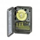 Intermatic T101B - Timer Switch - 125V 24 Hr. Mechanical SPST w/NEMA 1 Separate Clock Motor & Circuit Terminal