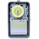 Intermatic T103R - 24 Hr. Dial Time Switch - NEMA 3R Raintight Steel Case - Gray Finish - DPST - 40 Amps - 125 Volt