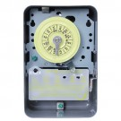Intermatic T104 - 24 Hr. Dial Time Switch - NEMA 1 Indoor Steel Case - Gray Finish - DPST - 40 Amps - 208 to 277 Volt