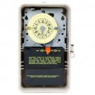 Intermatic T104R3 - Pool/Spa Mechanical Time Switch - NEMA 3R Raintight Steel Case - Beige Finish - DPST - 40 Amps - 208-277 Volt