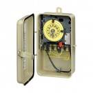 Intermatic T104R201 - Pool and Spa Mechanical Controls - DPST Heat Pro Time Switch In Metal Enclosure