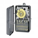 Intermatic T1205R - Timer Switch - 480V 24 Hr. Mechanical DPST In NEMA 3R Steel Case