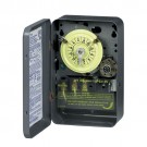 Intermatic T174 - DPST 24 Hour 208-277-Volt Time Switch with Type 1 Indoor Enclosure