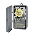 Intermatic T174CR - DPST 24 Hour 208-277-Volt Time Switch with 3R Steel Case and Carry-over