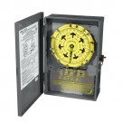 Intermatic T7401BR - 4PST 125-Volt 7-Day Mechanical Time Switch with Nema 3 Steel Outdoor Cover
