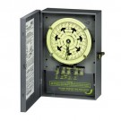 Intermatic T7402B - 7-Day Dial Time Switch - NEMA 1 Indoor Steel Case - 40 Amps - 208 to 277 Volt