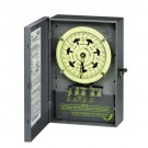 Intermatic T7402BC - 4PST 208/277-Volt 7-Day Mechanical Time Switch with Nema 1 Indoor Cover and Carryover