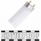 Major Brand F40T8/841/Shatter-Proof - 5ft. - 40 Watt - 3500 Lumens - 4100K - 800 Series Phosphors