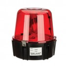 NSI Industries TA47RN5 - All Purpose 360 Degrees Rotating Beacon - Warning Light - 117VAC - For Security Intrusion - Red