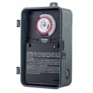 Tork TU40 - 24 Hour Time Switch 40A Auto Voltage 120-277V DPDT Indoor/Outdoor Plastic Enclosure