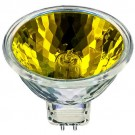 Ushio 1000580 - 50 Watt - MR16 - 12 Volt - Popstar - Yellow - FNC Spot - Front Glass Cover - 4,000 Life Hours - 50 Packs